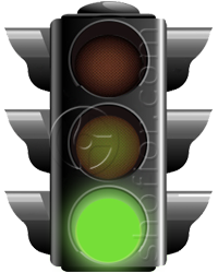 traffic lights - green signal
