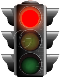 traffic lights - red signal