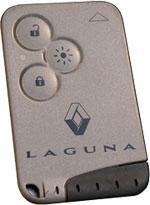 Renault Laguna Key Card