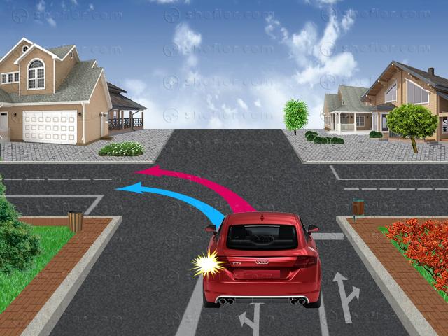 траектория за преминаване през кръстовище