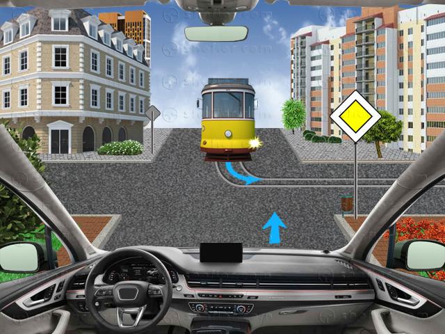 Правила за преминаване през регулирано кръстовище