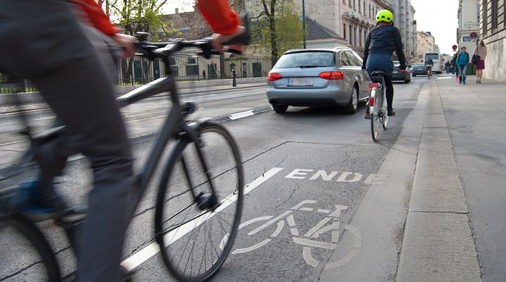 cyclists on the roads