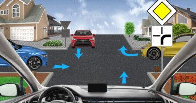регулиранно кръстовище на равнозначни пътища